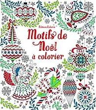 Motifs de Noël à colorier par Emily Bone