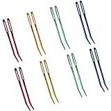 16Pcs Bent Tip Tapestry Needle Darning Needles for Knitting Crochet (Random Color)