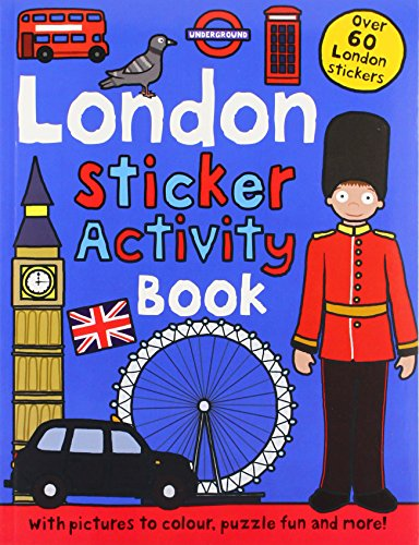 London Sticker Activity Book (Preschool Sticker Activity Books)