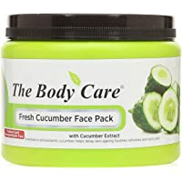 The Body Care Cucumber Face Pack, 500 g