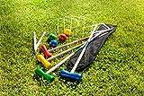 Holzwurfspiel Krocket Outdoorspiel Draußenspiel Holzspielzeug Gartenspiel Neu