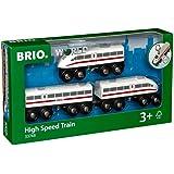 BRIO Värld – höghastighetståg för barn från 3 år och uppåt, kompatibel med alla BRIO tågset