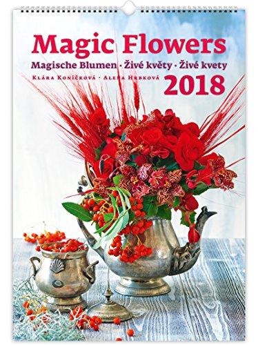 C140-17-18 Kalpa Wand Kalender 2018 Magische Blumen 31.5 x 45 cm + Kaufen 1 Holen Sie sich 1 gratis Kalender C141-17 (Wand-kalender Blumen)