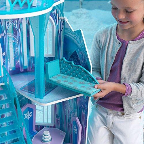 Elsa Eispalast: Eiskönigin Puppenhaus aus dem Film Frozen (inkl. Testbericht) - 8