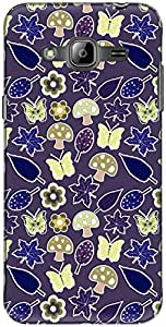 The Racoon Wildlife Purple hard plastic printed back Case for Samsung Galaxy J3 (2016)