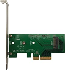 Lycom DT-120 M.2 PCIe to PCIe 3.0 x4 Adapter (Support M.2 PCIe 2280, 2260, 2242)