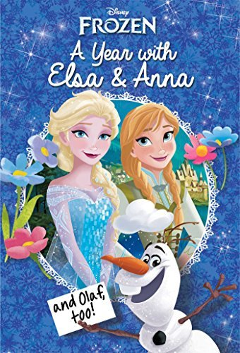 Disney Frozen: A Year with Elsa & Anna (and Olaf, Too!) (Replica Journal) by Erica David (2016-03-08)