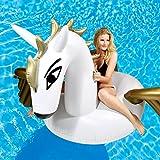 Aufblasbare Matratze Pegasus Luftmatratze Badeinsel Fliegendes Pferd mit Flügeln Matratze...