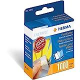 Herma Creative - Etiquetas para fotos (1000 unidades, 17 x 12 mm), blanco