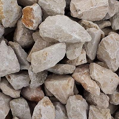 Natursteine für Gabione JURA gelb Körnung 45 - 56 mm - Big Bag 800kg Gabionen-Steine von Gabiona auf Du und dein Garten