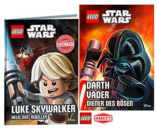 AMEET Lego® Star Wars TM. Luke Skywalker, Held der Rebellen + Lego® Star WarsTM Darth Vader, Diener des Bösen Gebundene Ausgabe - im Setangebot