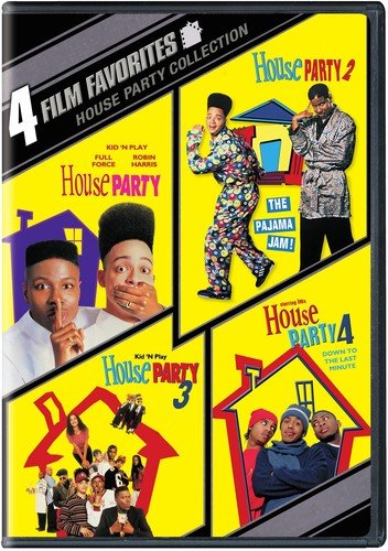 4 Film Favorites: House Party (2pc) / (Full Ws) [DVD] [Region 1] [NTSC] [US Import] (4 Film Favorites Dvd)