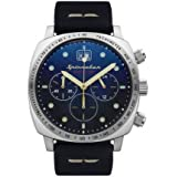 Spinnaker vintage hull chronograph orologio Uomo Analogico Al quarzo con cinturino in Pelle di vitello SP-5068-03