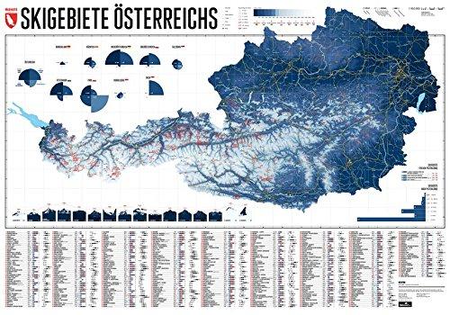 Price comparison product image Skigebiete Österreichs 1:950 000: Edition 1