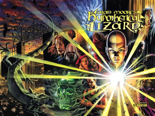 Alan Moore's Hypothetical Lizard Limited Edition Hardcover