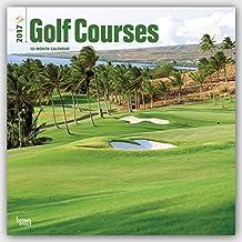 Golf Courses - Golfplätze 2017 - 18-Monatskalender: Original BrownTrout-Kalender [Mehrsprachig] [Kalender] (Wall-Kalender)