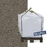 XXL Rheinsand Big Bag 0-2 mm 600 Liter | Dekorativen Gartengestaltung | Bodenlockerung Garten Wegebau Pflasterung