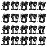 Feleph Super Battle Droid Figuren 40 Stücke Föderation Armee Builder Set Bausteine Kits Ziegel Spielzeug mit Allen großen Marken Kompatibel