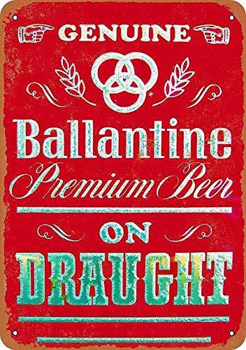 Laurbri Ballantine Beer Blechschilder Plakette Poster aus Metall Warnschild Eisenblech Malerei Schlafzimmer Schule Wand Aluminium Kunst Dekor Bar Café