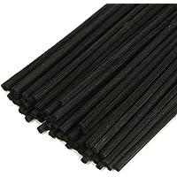 HOSSIAN 50pcs bâtons de diffuseur de roseaux - bâtons de rotin en bois - bâtons de diffuseur d'arôme d'huile essentielle…