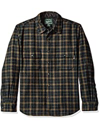 Woolrich Men's Bering Wool Plaid Shirt