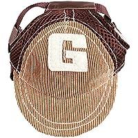 YUMSUM Gorra de béisbol para mascotas Gorra deportiva para perros con visera y orificios para los oídos para perros medianos,G Amarillo