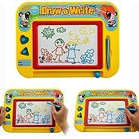 Cisixin Magnetic Drawing Board, Pizarra mágica, Tablero de Dibujo Multicolor Borrable para Bebé Juguete