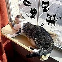 KADUNDI Hamaca para Ventana de Gato o Perca, cómoda Cama para Dormir con Gato Grande de hasta 15 kg