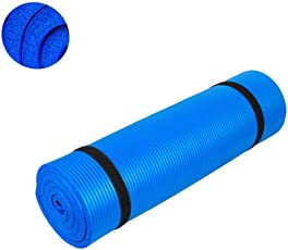 Generic 10 mm Foam Yoga Mat (Multicolor)
