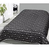 JEMIDI Tagesdecke Bett und Sofaüberwurf Gesteppt 220cm x 240cm Überwurf Tagesdecke Sofa Couch Decke Husse Überwürfe Steppdecke XL XXL (Design 25)