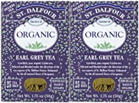 ST DALFOUR BLACK TEA,GO2, EARL GREY, 25 BAG