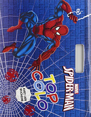 Spiderman Top colo : Avec des stickers