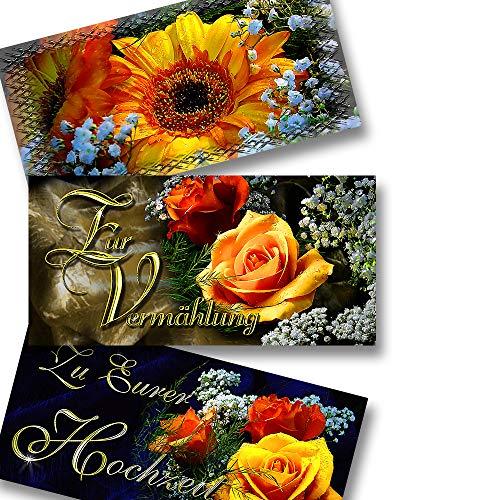 Exklusives Brautkleid (Exklusives Grußkarten-Set Glückwunschkarten-Set