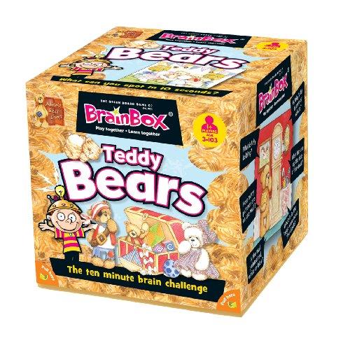 Green Board Games - Gioco di memoria Brainbox Teddy Bears, interamente in (Z6G)