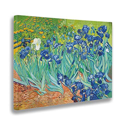 Giallobus   Cuadro   Vincent Van Gogh   Iris   Estampado