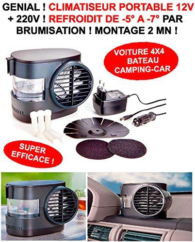 LE CLUB MECANIQUE LCM9805121541026 Climatiseur par Brumisation