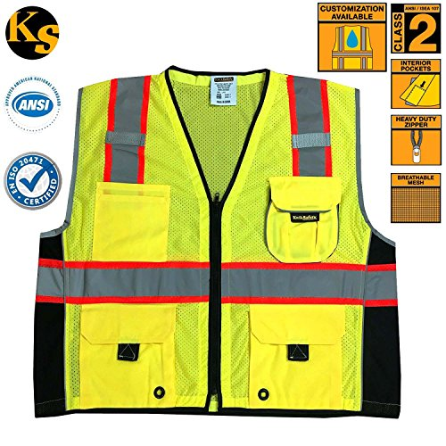 Kwik afety Class 2 Safety Vest High Visibility