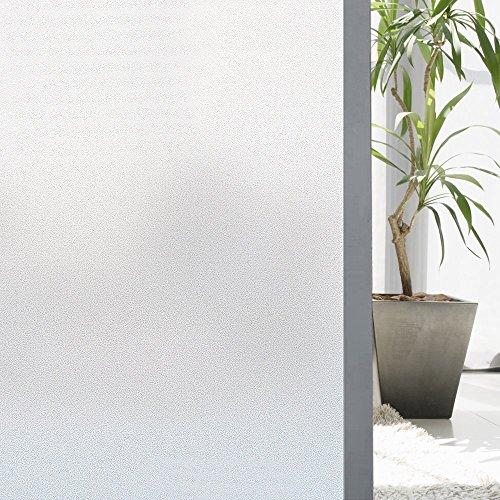Vinilos para Cristales Zindoo Vinilo Ventana Vinilo Translucido Vinilos Decorativos Cristales Laminas para Ventanas Proteger la Privacidad del Bano 45 X 200 cm