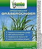 Jumbogras® Gräserdünger mit Langzeit-Wirkung, 100 % Organischer Ökodünger für alle Ziergräser, Gräser-Beete und Gras-Pflanzungen (Gräserdünger organisch, 750 g)