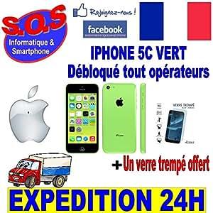 iPhone 5C 16 Go Vert Reconditionné Garantie 1 an