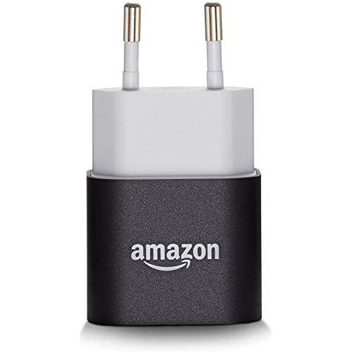 Caricabatterie USB Amazon da 5 W - compatibile con la maggior parte dei dispositivi inclusi tablet, e-reader, smartphone e altri