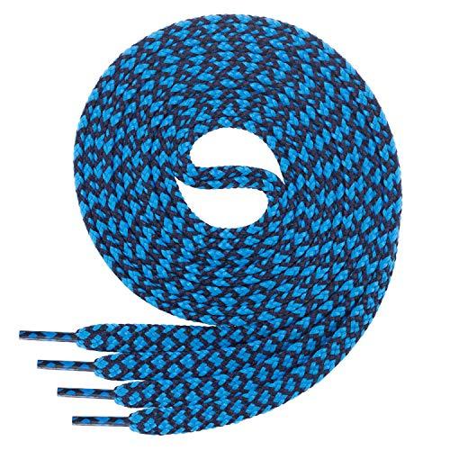 Camel-koralle (Di Ficchiano Flache SCHNÜRSENKEL für Sneaker und Sportschuhe-Navy.blue-190)