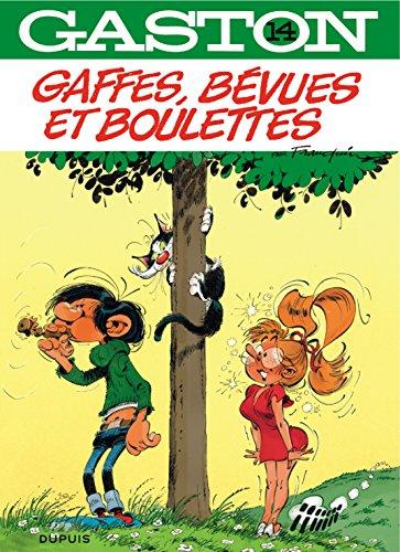 Gaston - tome 14 - Gaffes, bévues et boulettes