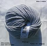 100 gr. Montego Fb. 44 perlgrau, m. Merino, Linie 55, Brandneu, Online, Herbst/Winter 2013/14