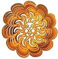 Woodstream 1310-12-3 Iron Stop Klassischer Windspinner, Sonnenwirbel, groß, 30 cm, kupfer von Woodstream bei Du und dein Garten