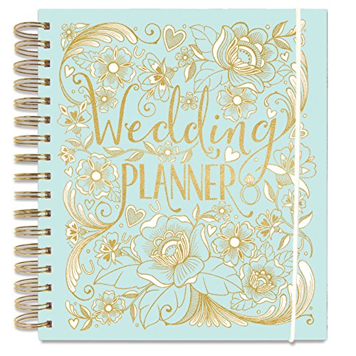 Wedding Planner - Duck Egg Blue - perfect Engagement Gift with sections, checklists and pockets for organising a wedding by Rachel Ellen Test