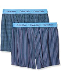 Calvin Klein Herren Hüft-Shorts, 2er Pack