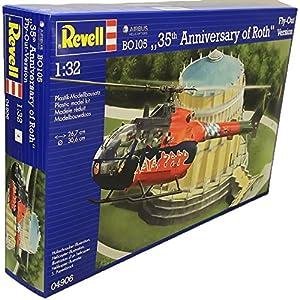 Revell BO 105 35th Anniversary of Roth Fly-out Version 1:32 Assembly Kit Rotorcraft - maquetas de aeronaves (1:32, Assembly Kit, Rotorcraft, Passenger Aircraft, De plástico