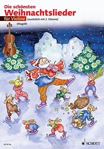 Die schönsten Weihnachtslieder: 1-2 Violinen