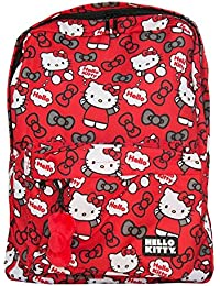 Hello Kitty , Sac à main porté au dos pour femme Rouge rouge